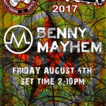 Benny Mayhem – My Life On The Road – Pt1 – Rebellion 2017